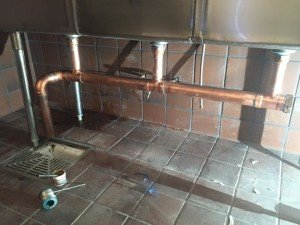 Image of piping commercial plumbing reno