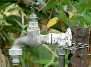 a tap that needs commercial plumbing maintenance