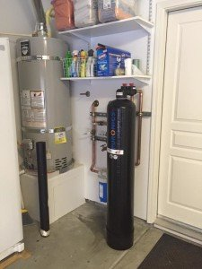 Water Softener System installed by Johnson Plumbing