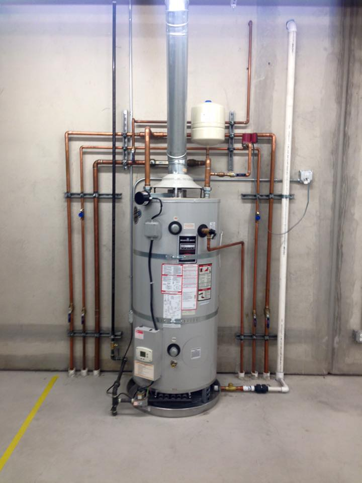 Natural Gas Leak On Water Heater