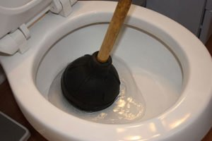 blocked toilet emergency plumbing service Johnson Plumbing
