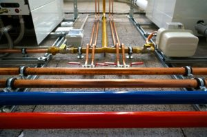 a typical plumbing system in your building