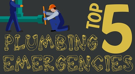 Top 5 Plumbing Emergencies